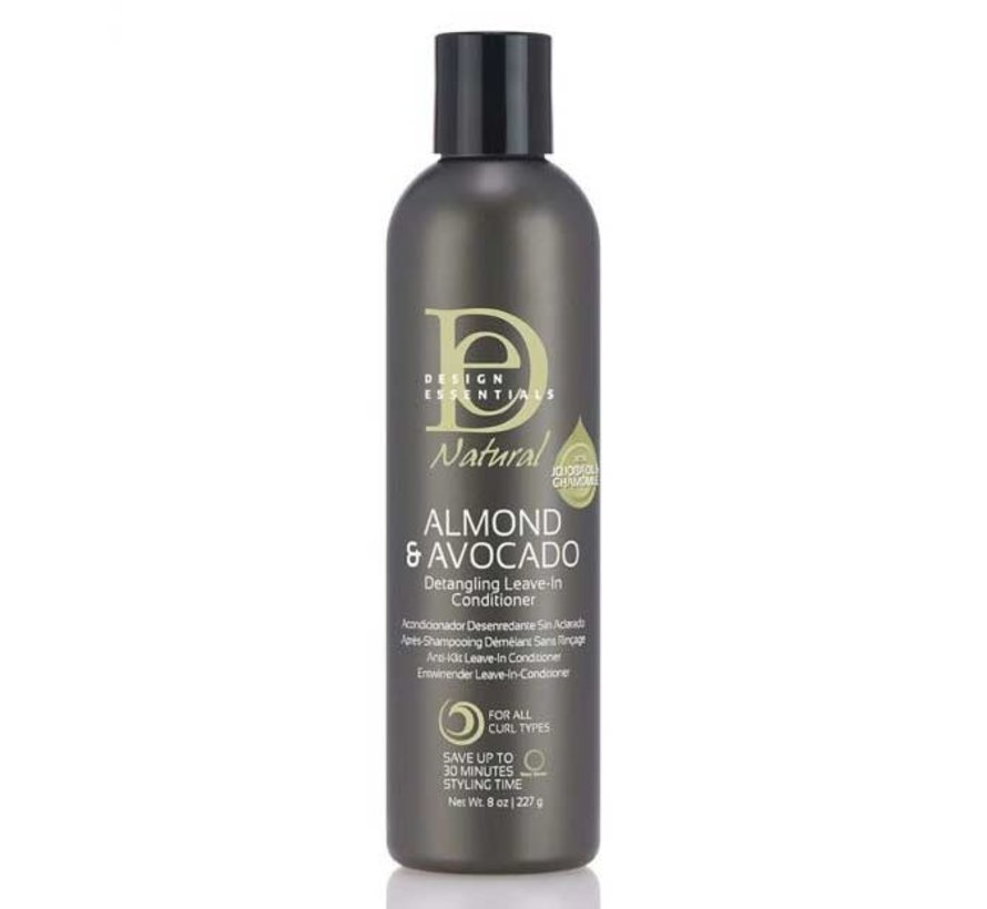 Natural Almond & Avocado Detangling Leave-in Conditioner - 237ml
