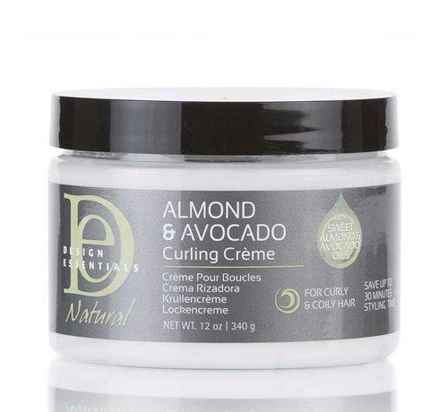 Design Essentials Natural Almond & Avocado Curling Cream - 355ml