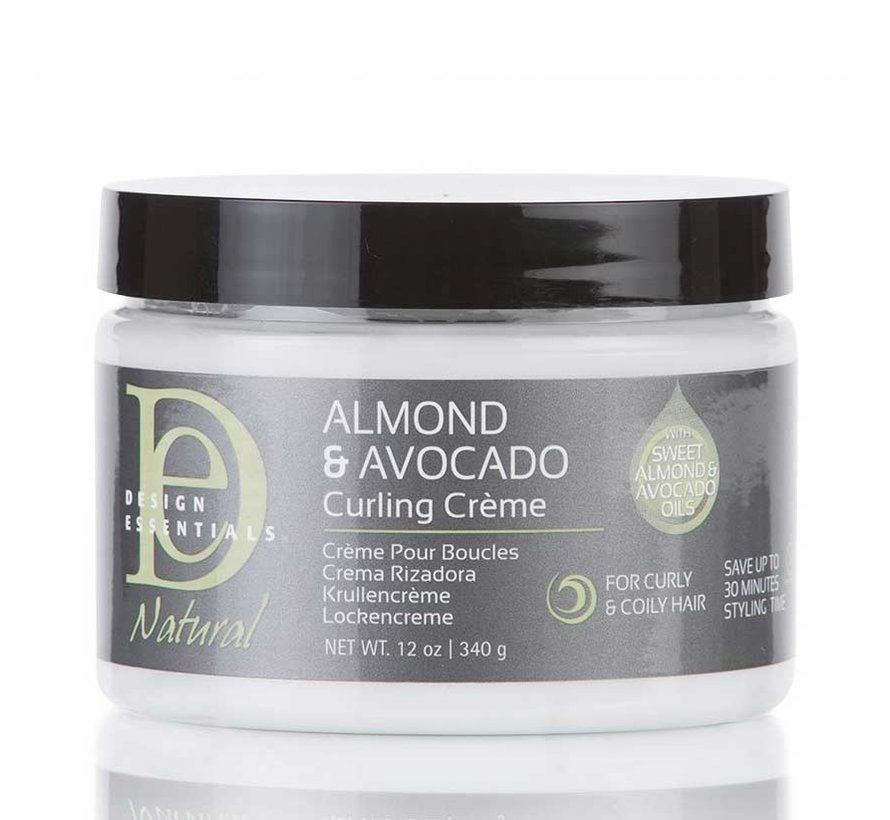 Natural Almond & Avocado Curling Cream - 355ml