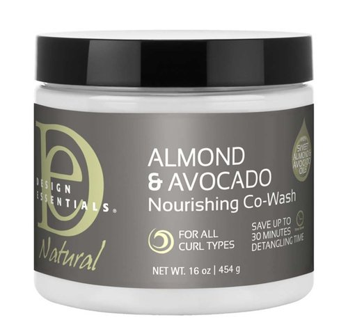 Design Essentials Natural Almond & Avocado Nourishing Co-Wash - 473ml