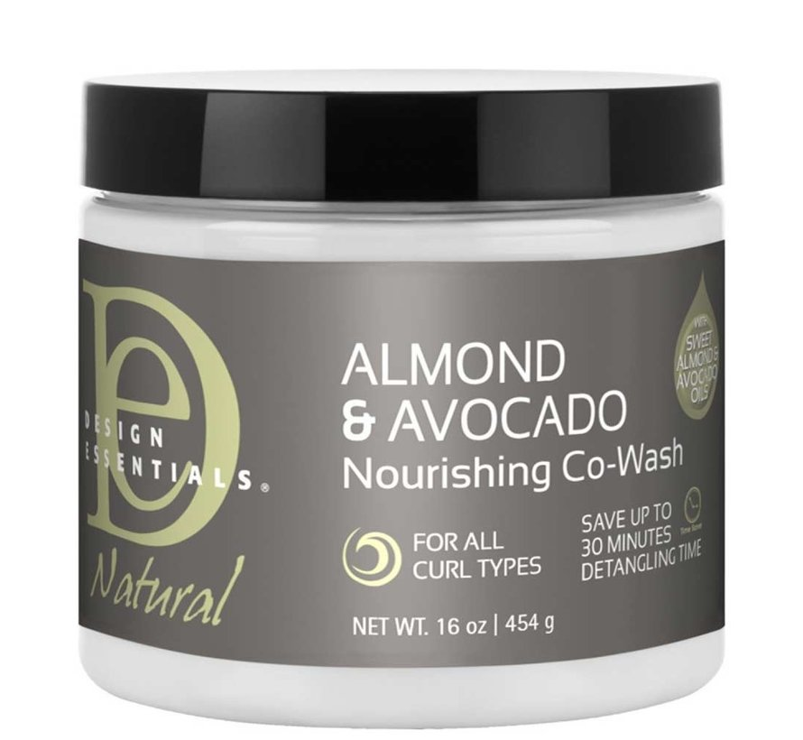 Natural Almond & Avocado Nourishing Co-Wash - 473ml