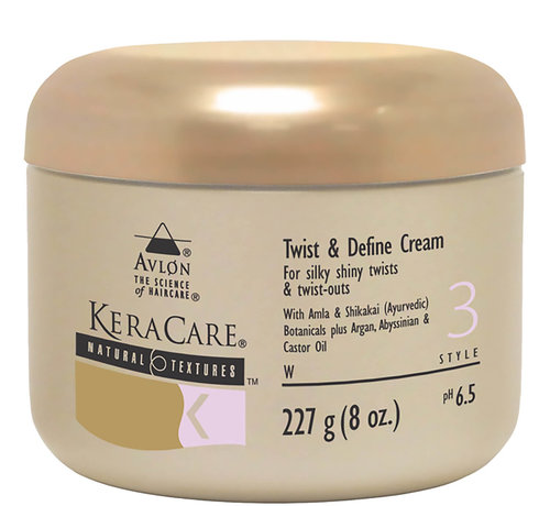 KeraCare Natural Textures Twist & Define Cream - 227gr.