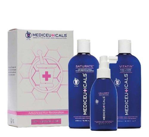Mediceuticals Hair Restoration Kit for Women - Dry
