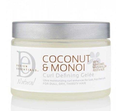 Design Essentials Coconut & Monoi Curl Defining Creme Geleé - 354ml