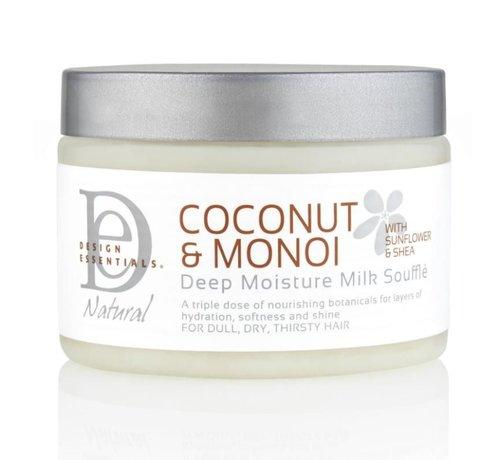 Design Essentials Coconut & Monoi Deep Moisture Milk Soufflé - 354ml