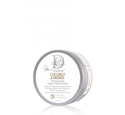 Design Essentials Coconut & Monoi Moisturizing Edge Control Glaze - 65g