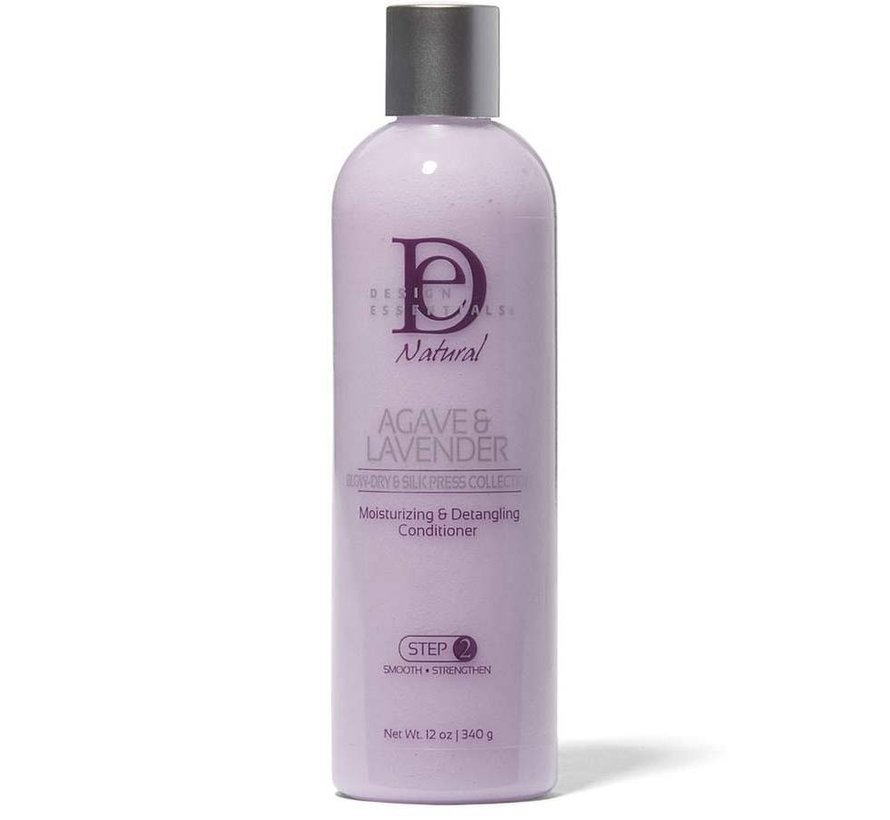 Agave & Lavender Moisturizing & Detangling Conditioner - 340gr.
