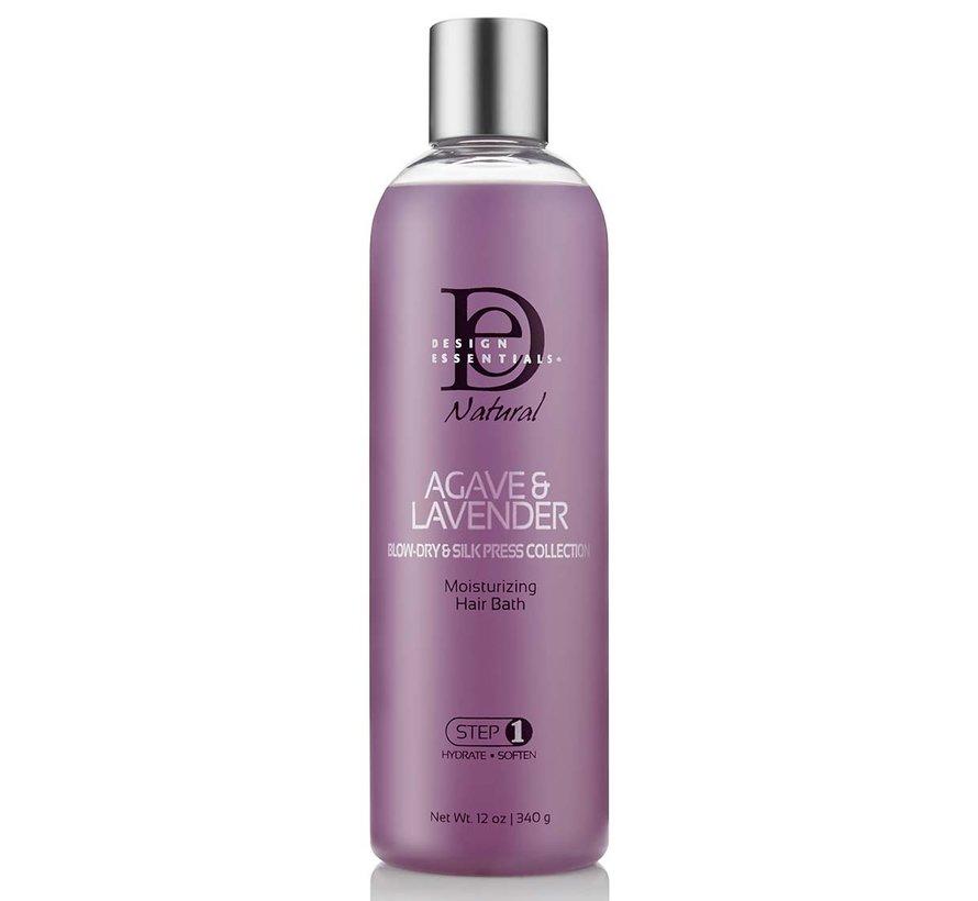 Agave & Lavender Moisturizing Hair Bath Shampoo - 340gr.