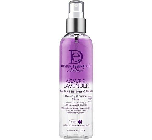Design Essentials Agave & Lavender Blow-Dry & Style Primer - 227gr.