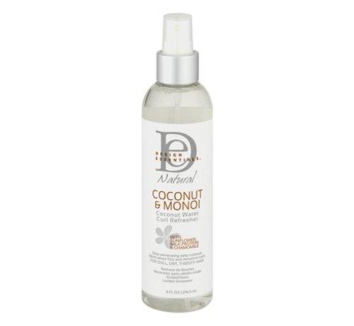Design Essentials Coconut & Monoi Coconut Water Curl Refresher - 236ml