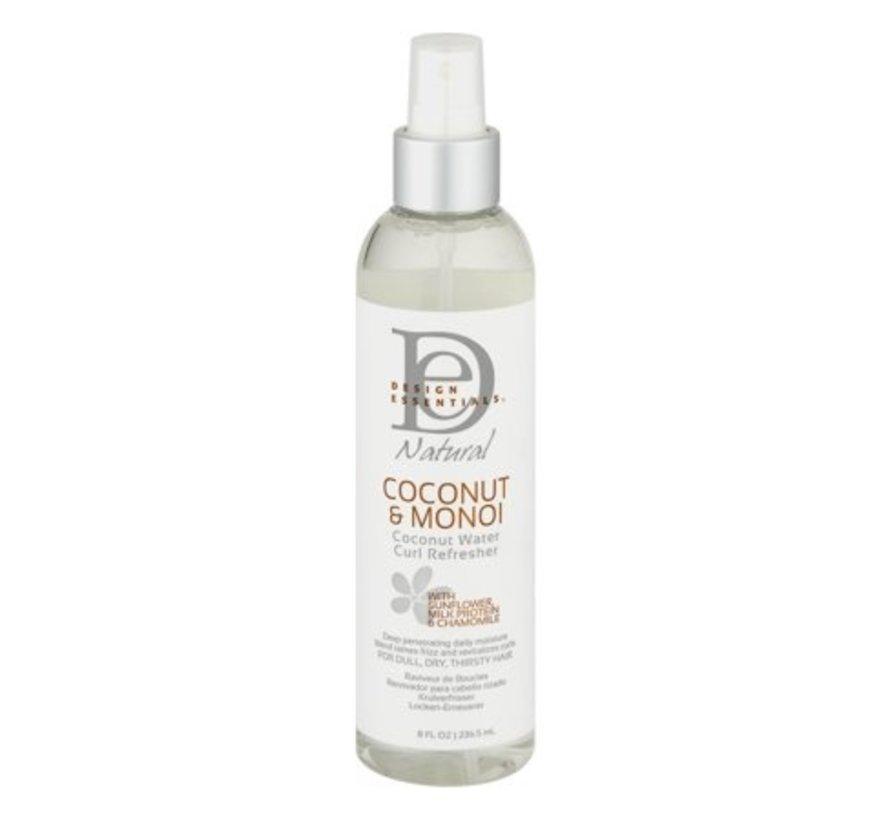 Coconut & Monoi Coconut Water Curl Refresher - 236ml