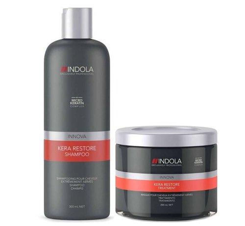 Indola Innova Kera Restore Set (shampoo & treatment)