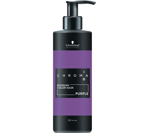 Schwarzkopf Chroma ID Bonding Intense Violet Colour Mask - 280ml