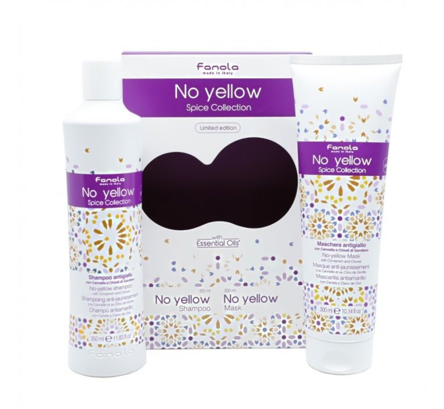 No Yellow Spice Collection Limited Edition - Set