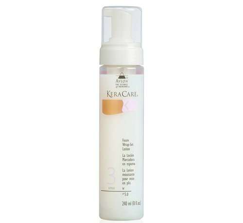 KeraCare Foam Wrap-Set Lotion - 240 ml