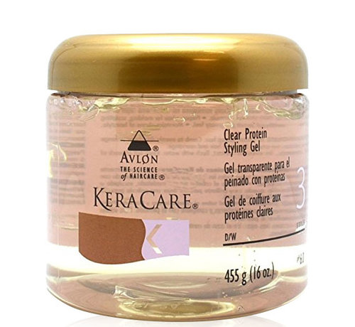 KeraCare Clear Protein Styling Gel - 455gr.