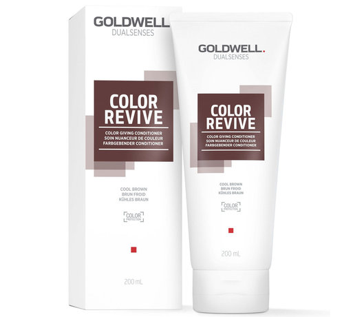 Goldwell Dualsenses Color Revive Conditioner Cool Brown - 200ml