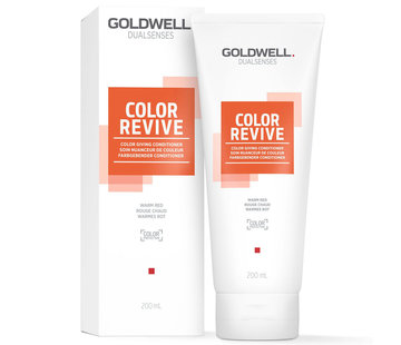 Goldwell Color Revive Conditioner - Warm Red