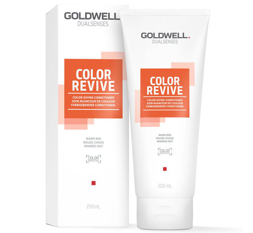 Goldwell Dualsenses Color Revive Conditioner Warm Red - 200ml