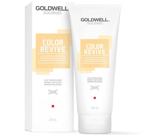 Goldwell Dualsenses Color Revive Conditioner Light Warm Blonde - 200ml