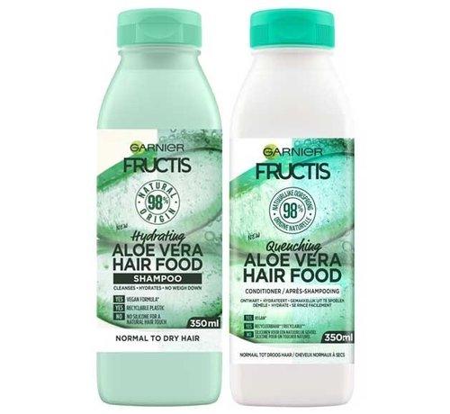 Garnier Fructis - Aloe Vera Hair Food - Set