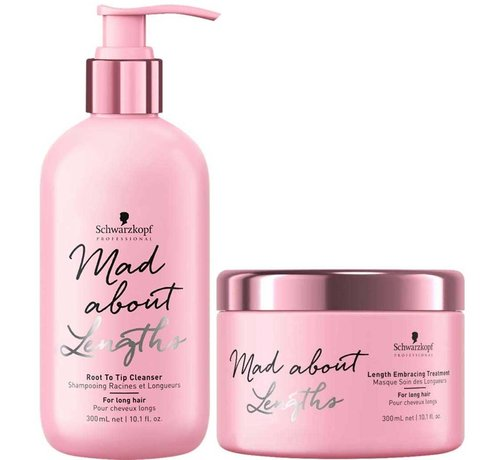 Schwarzkopf Mad About Lengths Care - Set