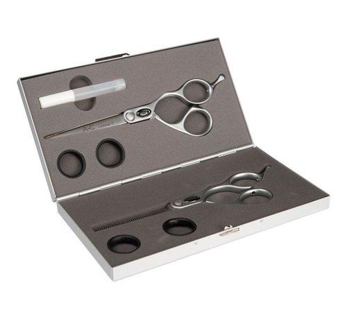 """Ultron Japanese Hairdressing Scissors Set 6 """"+ 5.5"""""""