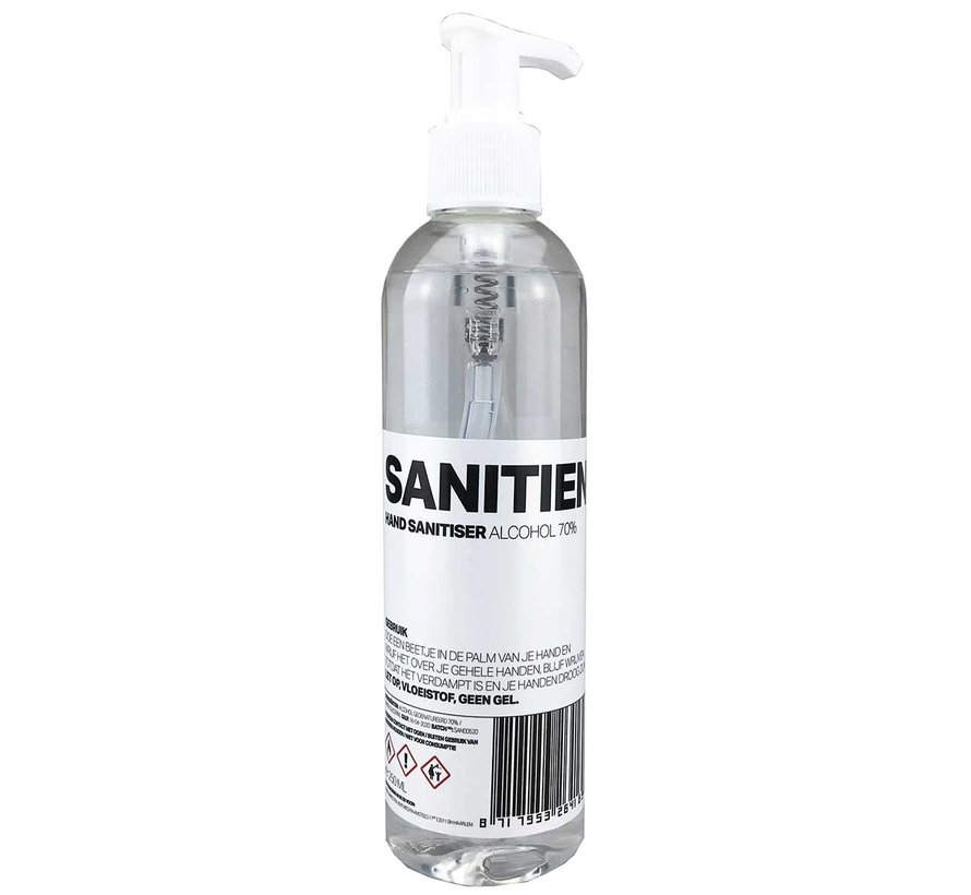 Disinfectant Hand Alcohol 70% Alcohol - 250ml