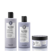Maria Nila Sheer Silver Set
