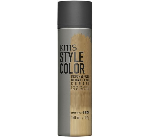 KMS California Style Color Spray Brushed Gold - 150ml