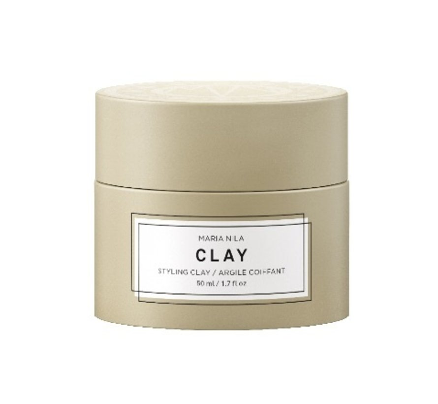 Minerals Styling Clay Hair Wax