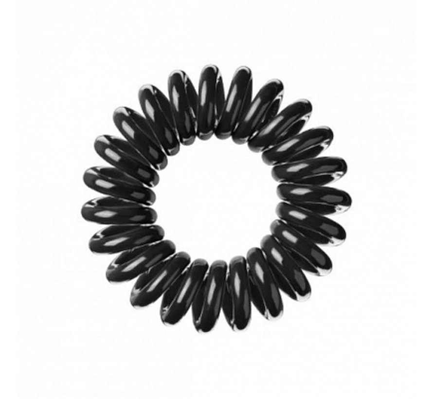 Traceless Hair Ring True Black - Original - 1x3st.