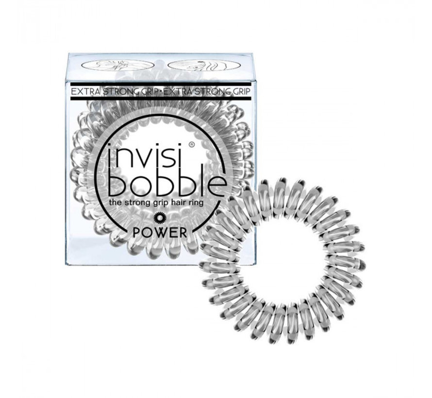Traceless Hair Ring Crystal Clear - Power - 1x3st.