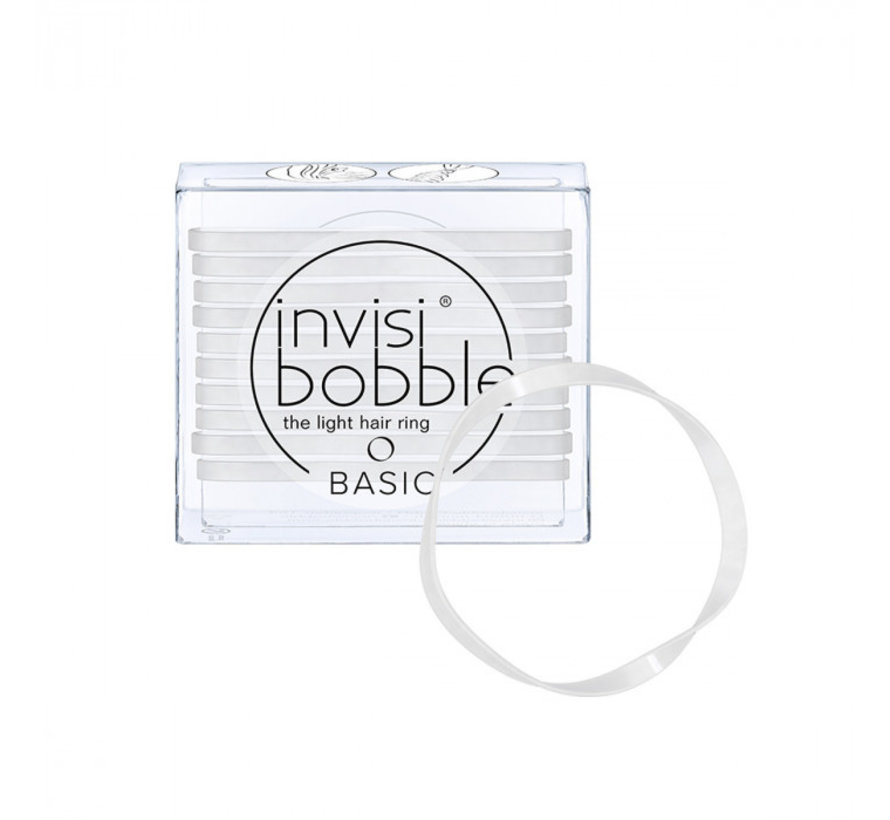 Traceless Hair Ring Crystal Clear - Basic