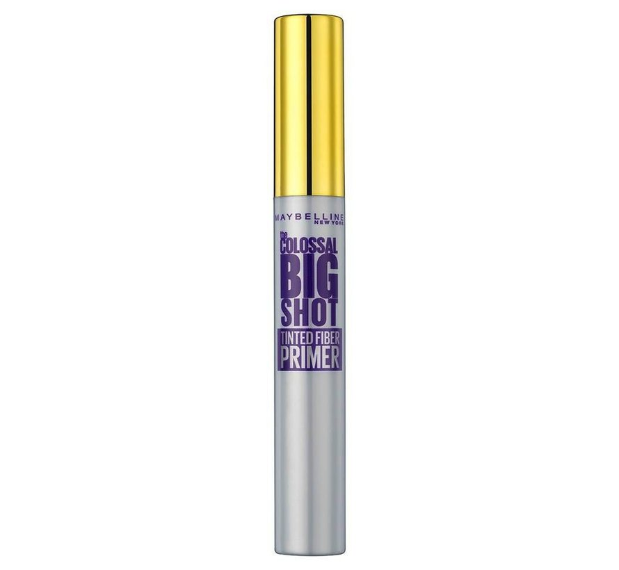 The Colossal Big Shot Fiber Tinted Primer Mascara - Black - 8ml
