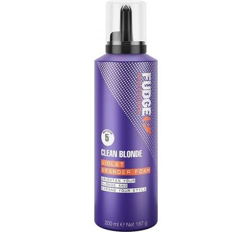Fudge Clean Blonde Violet Xpander Foam - 200ml
