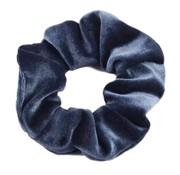 Scrunchie Velvet Grijsblauw
