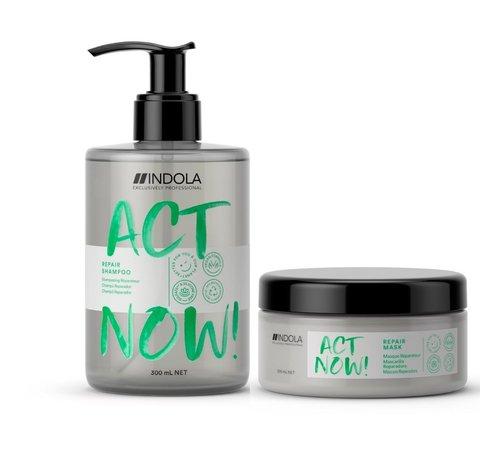 Indola ActNow Repair Set - 300ml+200ml