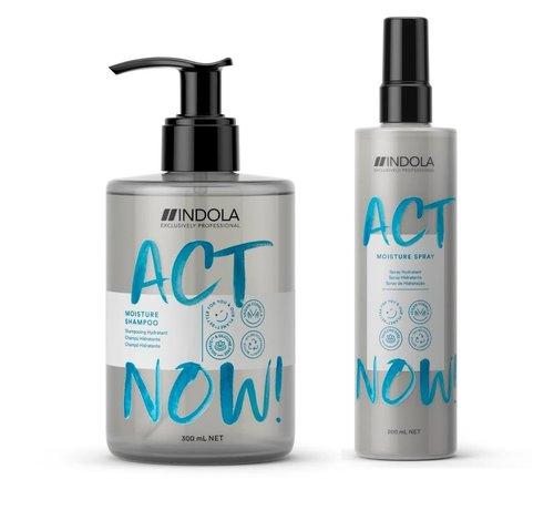 Indola ActNow Moisture Set - 300ml+200ml