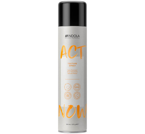 Indola ActNow Texture Spray - 300ml