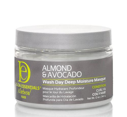 Design Essentials Almond & Avocado Deep Moisture Mask - 340gr.