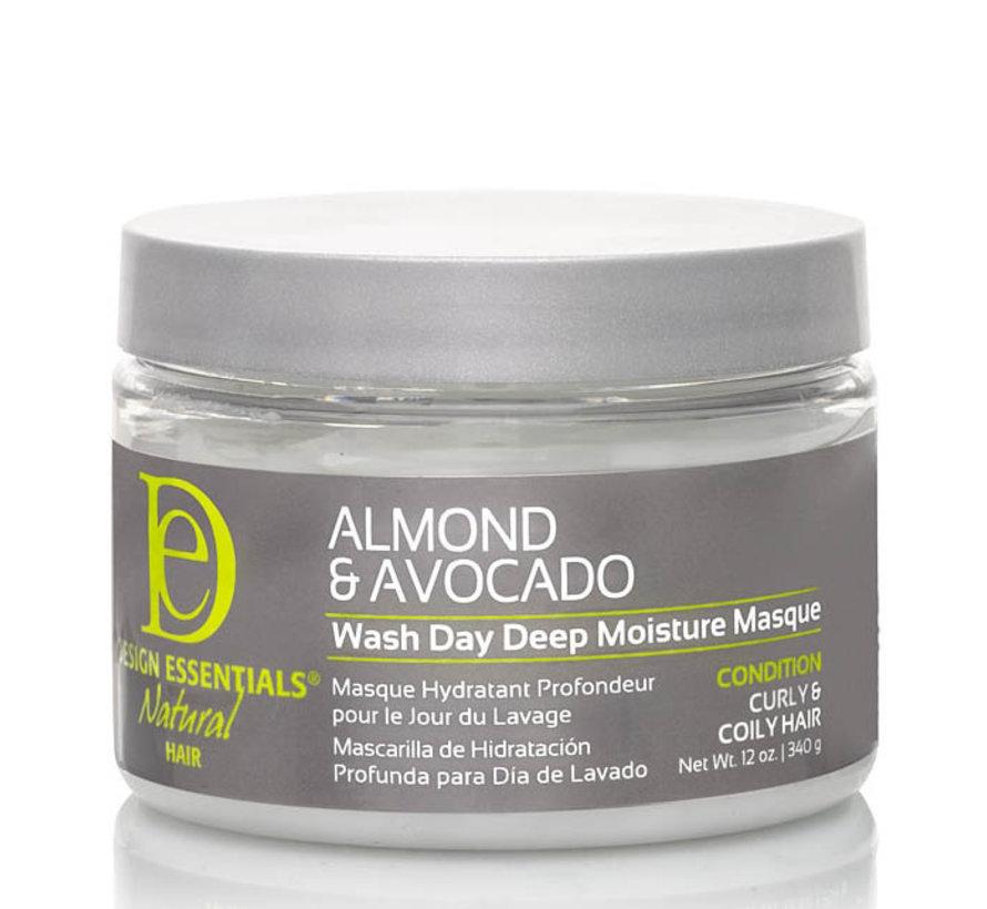 Almond & Avocado Deep Moisture Mask - 340gr.