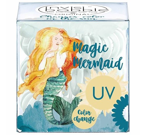 Invisibobble Traceless Hair Ring Ocean Tango - Original - UV Change Color - 1x3st.