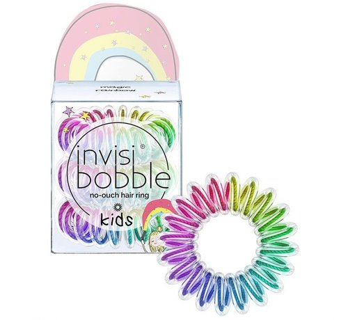 Invisibobble No-Ouch Hair Ring Magic Rainbow - Kids - 1x3st.