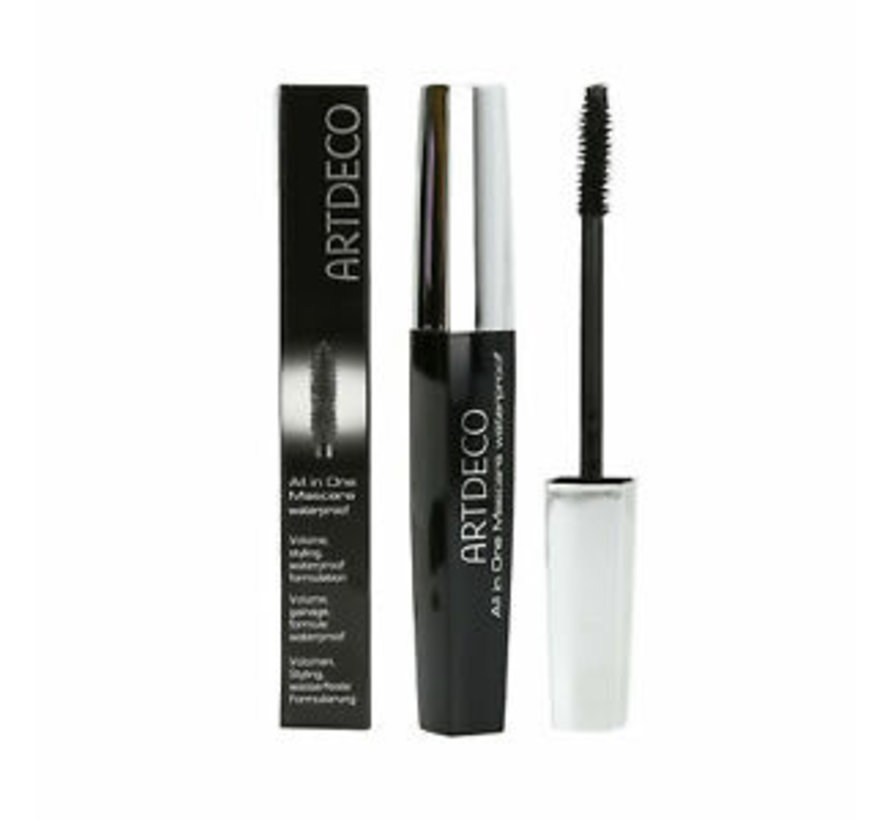All In One Mascara - Black - Waterproof - 10ml