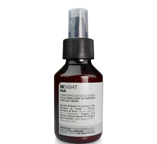 Insight Man Emollient Aftershave & Face Cream