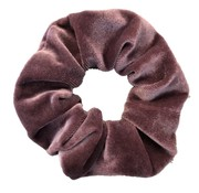 Scrunchie Velvet Purple/Pink