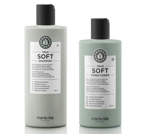 Maria Nila True Soft Luxe Care Set - 350ml+300ml