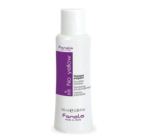 Fanola No Yellow Shampoo Travelsize - 100ml