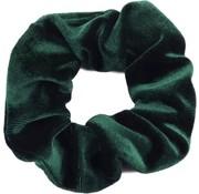 Scrunchie Velvet Dark Green